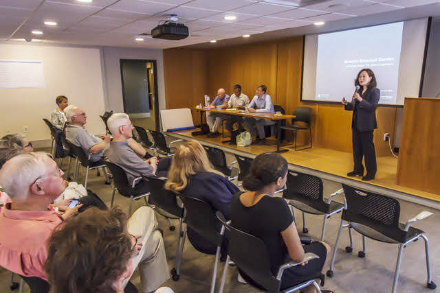 Botanical Garden of the Piedmont Hosts Community Input Session